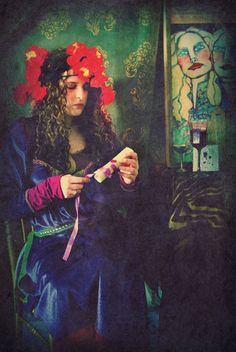 Ophelia and The Letter 8x10 inches Photographic by MerlePaceArts, $35.00