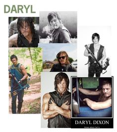 """Daryl Dixon (contest)"" by just-hanging ❤ liked on Polyvore"
