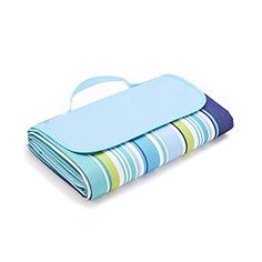 Werocker Extra Large Waterproof Sandproof Portable Beach Blanket Mat Picnic Blanket Mat Outdoor Blanket Mat Camping Blanket Mat Emergency Blanket Tote Park Mat 79 x 57 Easy to Fold  Clean -- You can find more details by visiting the image link.