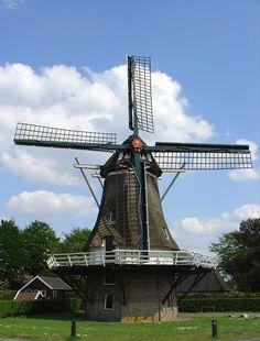 Molen de Vlijt Diever, NL