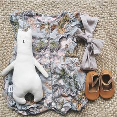 4fc5041d0fd19 Baby romper so cute! Baby Rompers, Flat Lay, Girl Outfits, Baby Overalls