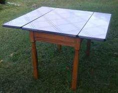 Enamel Top Table for Sale | Enamel top kitchen table - $65 (New Tripoli) for Sale in Allentown ...