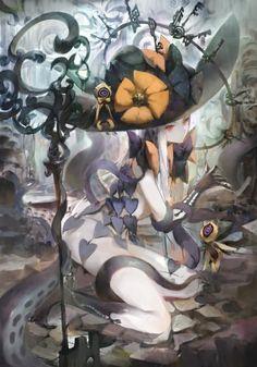 Abigail Williams~Fate/Grand Order by Hong Manga Art, Manga Anime, Anime Art, Fate Characters, Fantasy Characters, Character Art, Character Design, Anime Witch, Fate Servants