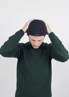 Bonnet Marin, Fil Bleu, Revers, 21st, Sweatshirts, Sweaters, Fashion, Falling Down, King