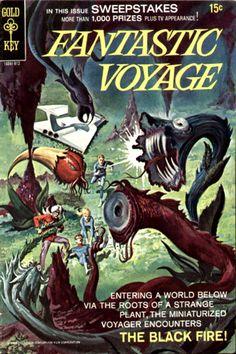 COMIC fantastic voyage 2 #comic #cover #art