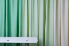 Bern - a semi-transperant and slightly shimmering curtain fabric in Trevira CS from Astrid. Curtain Fabric, Curtains, Flame Retardant, Bern, Interior, Home Decor, Blinds, Decoration Home, Indoor