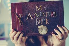 """Would be so cute to do an """"our adventure book"""" for someone to show where you have been together and where you want to go :)"""