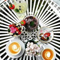 #pastries #food #coffe #flowers #summer #stockholm #love