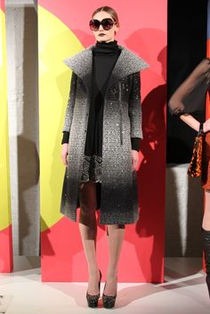 Alice + Olivia RTW Fall 2012 - Runway, Fashion Week, Reviews and Slideshows - WWD.com