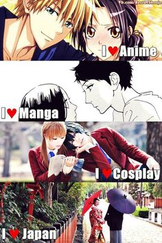Yes :3 my fav anime&manga couple.(not rl people xD)  | via Facebook ✿. ☻. ☂. ☺