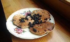 Blueberry Polish Pancakes, Placuszki kefirowe z jagodami