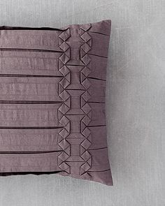 "Vera Wang ""Side Origami"" Pillow bloomingdale's"