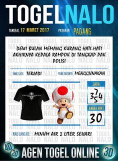 Angka Kuat 2D Togel Wap Online TogelNalo Padang 17 Maret 2017