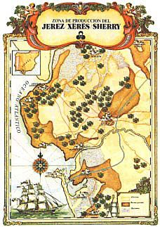 5 rute ale vinului vino de jerez