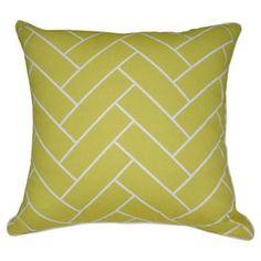Geometric Throw Pillow - Loom and Mill