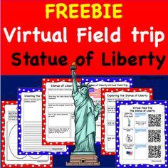 Freebie- Statue of Liberty Virtual Field Trip