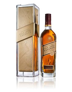 New Johnnie Walker Gold Label: Serve Chilled - The Dieline -
