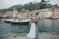 Ensaio pós casamento em Portofino