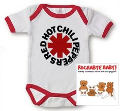 Kiditude - Red Hot Chili Peppers Baby Gift Set $35.90
