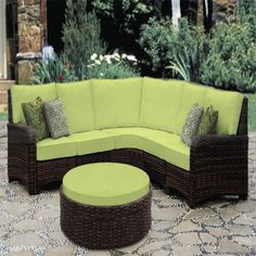 Shop this south sea rattan saint tropez wicker sectional lounge set from our top selling South Sea Rattan lounge sets. PatioLiving is your premier online showroom for patio lounge and high-end outdoor furniture. Resin Wicker Patio Furniture, Outdoor Furniture Sets, Outdoor Decor, Urban Furniture, Outdoor Living, Outdoor Retreat, Industrial Furniture, Pallet Furniture, Rustic Furniture