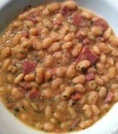 Crockpot White Bean and Ham Soup