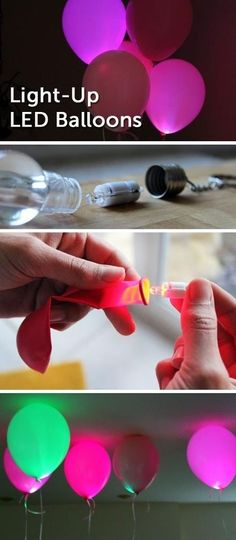 Put LED light bulbs in them. | 32 Unexpected Things To Do With Balloons