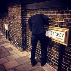#Artlife #Streetart #BYSART photo By: @phantomframer #BanksyART #BxYASELF