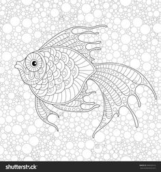 adult antistress coloring page black and white hand drawn doodle for coloring