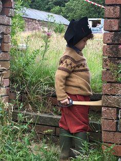 Little Sherlock the pirate