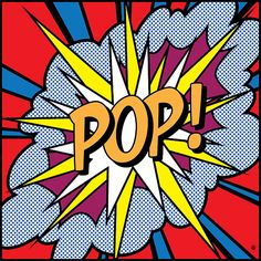 POP cartoon clip. This would be cool for your dream superhero bedroom, cbez!
