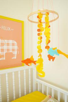 DIY Mobile   isly-felix-room-decor-diy-felt-fish-mobile-2  ROMES ROOM