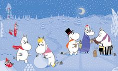 Moomins in the Snow by Tove Jansson