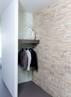 Natuurstenen muur wand