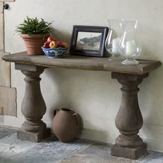Vicenza Console Table, but concrete