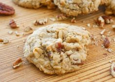 These chewy, bakery-style cookies have crisp edges and a soft center. They're filled with an assortment of chewy nuts, making them a salty sweet cookie that I can't resist. It amazes me that I feel no...