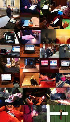 Työskentely- ja oppimistilat by PauliinaMakela, via Flickr Macbook Pro, Iphone