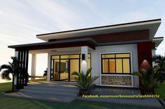 Simple Bungalow House Designs, Bungalow House Plans, Barn House Plans, House Front Design, Small House Design, Indian House Exterior Design, Modern Exterior House Designs, Single Storey House Plans, One Storey House