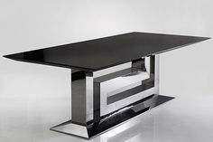 Greca Grand - Versace Home Collection -- This classic table can be used in nearly any setting if used right.