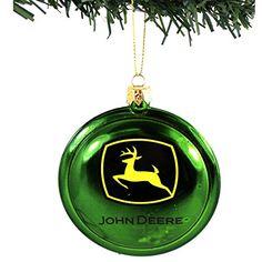 John Deere Logo Ornament | John deere | Pinterest | Ornaments ...