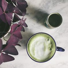 Matcha Cappuccino Mix some @whittardofchelsea #matcha green tea with some @rudehealth almond milk...and that's it ! . . . . #rudehealth#breakfast#healthyfood#breakfast#green#greetea#vegan#japan#plantbased#plants#botany#botanical#mug#anthropologie#tea#beautiful#instavsco#vsco#vscocam#interior#design#marble#latte#matchalatte#matchalove#matchatea#healthy @anthropologie