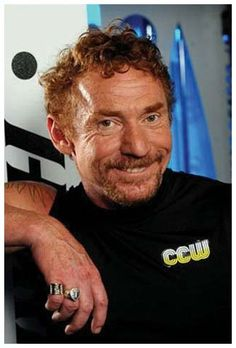 Danny Bonaduce-sorry but I have a thing for redheads, I guess bc I am one & so is my dad & I think he's handsome, he reminds me of my daddy.