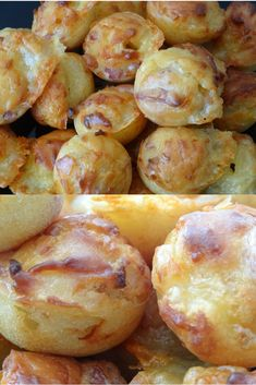 Smoked bacon and Comté bites - - Homemade Cake Recipes, Best Cake Recipes, Cake Recipes From Scratch, Smoked Bacon, Healthy Muffins, Pretzel Bites, Quick Easy Meals, Amazing Cakes, Entrees