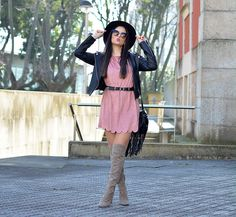Get this look: http://lb.nu/look/8725633  More looks by Alba .: http://lb.nu/albaoc  Items in this look:  Shein Dress, Shein Jacket