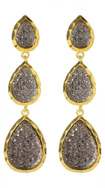 East Hampton Star Earrings -- $36