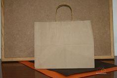 Bolsas de papel con asa rizada