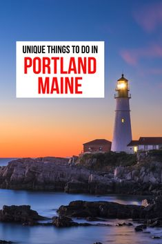 There's a lot more than seafood in Portland, Maine. Come to the other coast and you'll be blown away by the beauty of the area. And of course there's all that seafood too!  #PortlandMaine