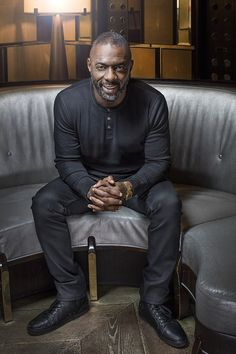 Lifesaver: Idris Elba, 43, said if it wasn't for his role as homegrown detective John Luth...