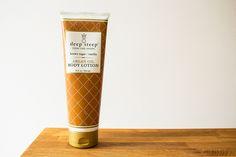 Deep Steep brown sugar + vanilla argan oil body lotion | #review #vegan #beauty