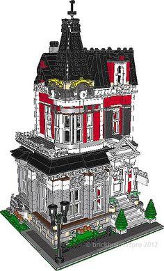 Queen Anne Victorian PDF Instructions - Brickbuilderspro Store