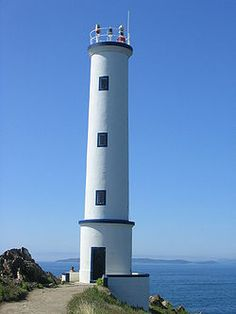 Cabo Home Lighthouse, Galicia, Spain